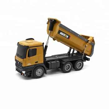 Dump Truck Huina 573 10 channel Remote Control RC Truck Dump self-discharging Max load  RTR 2.4GHz 1:14 LED Light - DISCOUNT ITEM  29% OFF All Category