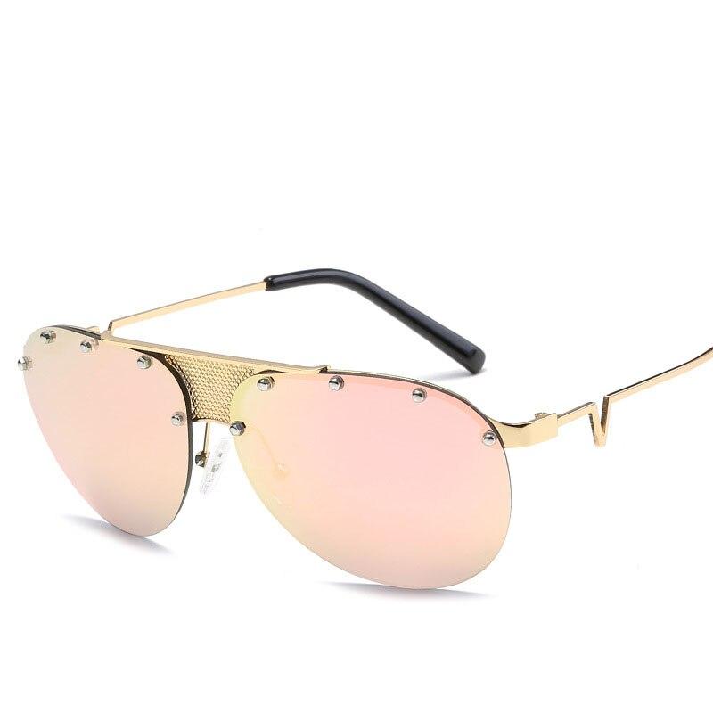 48a328cd8029ee 2017 Aviation Steampunk lunettes de Soleil Hommes Femmes Marque Designer De Mode  Lunettes de Soleil Pour Homme Femme Vintage Oculos Lunette De Soleil dans  ...