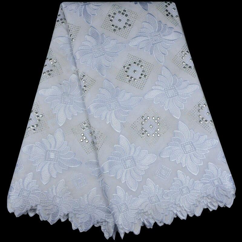 2017 nouveauté Haute Classe dentelle de corde africaine Tissu Net tissu en dentelle Avec Des Pierres design de mode Suisse voile dentelle en suisse