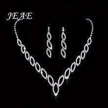 Luxury Zirconia Women Wedding Necklace Bridal Jewelry Sets Zircon Jewellery Crys