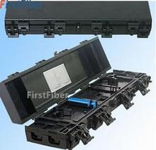 50pcs Drop Cable Closure16 core FTTH Drop Cable Type Fiber Optic Splice Splitter Closure IP65 Waterproof Fiber Splice Box