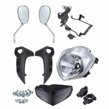 Headlight Lamp Kit Set Assembly For Yamaha FZ6N FAZER FZ 6N 2007 2008 2009 2010