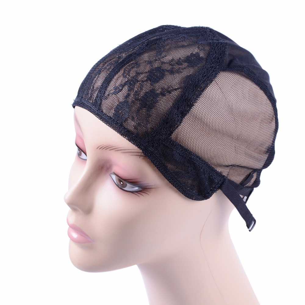 Hair Extensions & Wigs Hairnets Nice 1 Pcs Double Lace Wig Caps For Making Wigs And Hair Weaving Stretch Adjustable Wig Cap Hot Black Dome Cap For Wig Hair Net Street Price