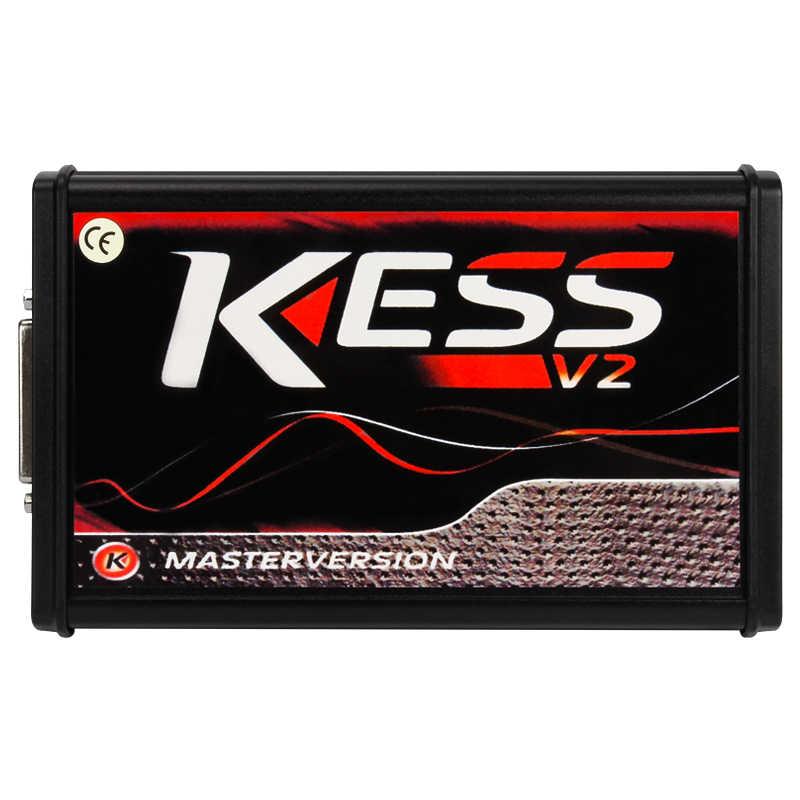 OBD2 интернет-ЕС версия красный KESS V5.017 SW V2.23 v2.47 без знака ограничить Kess V2 5,017 HW ktag v7.020 OBD2 менеджер Тюнинг Комплект автомобиля