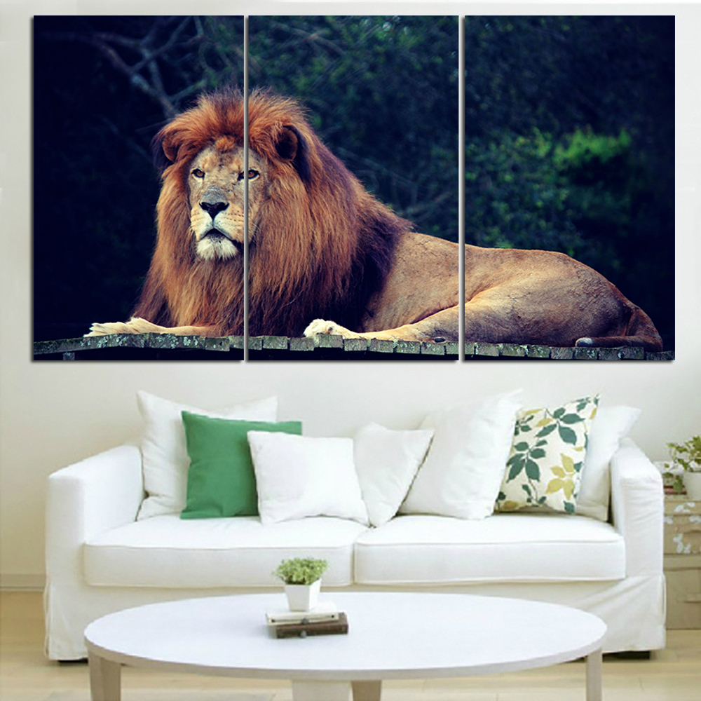 Compare prices on jungle animals art online shopping buy for Poster sur toile
