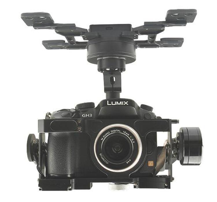 HG3D+Three Axis Brushless Gimbal 216*198*179mm 360 Degree Rotation HDMI-AV for GH3/4/5 Aerial Photography Quadcopter Parts levett caesar prostate massager for 360 degree rotation g spot