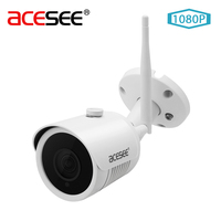 Acesee Camara Surveillance Camera 2MP Outdoor IP Camera Wi Fi 1080p Onvif IP Cam Wireless Waterproof