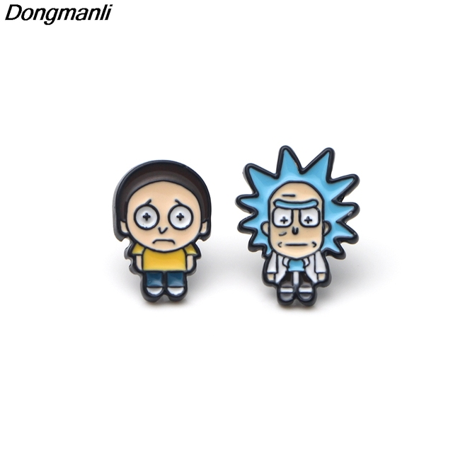 Rick and Morty Earrings