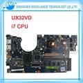 Para asus laptop motherboard ux32vd ssd intel core cpu com 60-np0mb1n00-a11 i7-3517 ux32vd mainboard 100% testado ok