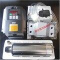 Motor Spindle ER11 1.5kw Água de Refrigeração Do Eixo & 1500 W VFD & 80mm braçadeira & cooling Water pump & 7 pcs er11 Para CNC moagem