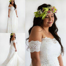Beautiful Plus Size Boho Wedding Dress