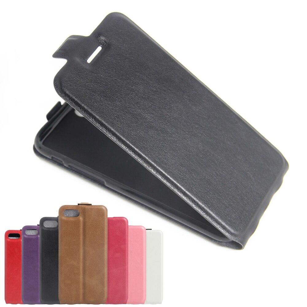Para iphone 7 case cubierta del cuero del tirón para apple iphone 7 casos de la