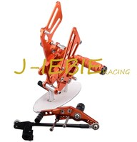 CNC Racing Rearset Adjustable Rear Sets Foot Pegs Fit For Honda CBR1000RR 2008 2015 ORANGE