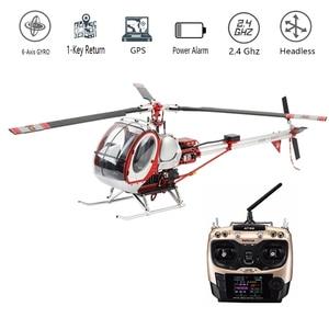 Image 2 - JCZK 300c סולם חכם Drone 6CH RC מסוק 450L חלי 6CH 3D 6 ציר Gyro Flybarless GPS מסוק RTF 2.4GHZ Drone צעצוע