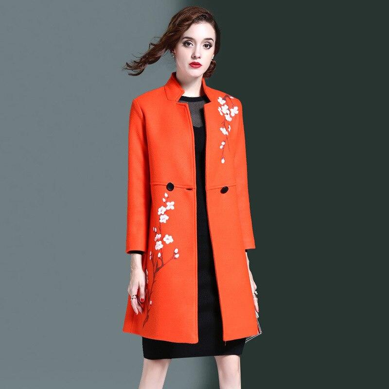 Online Buy Wholesale ladies pink wool coat from China ladies pink