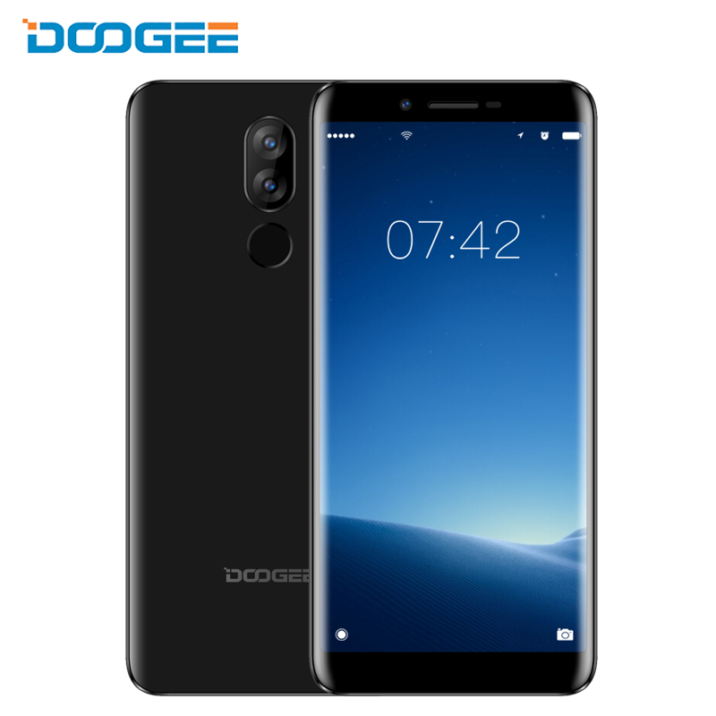 DOOGEE X60L 5.5 Smartphone 18:9 Full Screen Android 7.0 2GB+16GB Quad Core Fingerprint 13MP Dual Camera 4G Mobile Cell PhonesDOOGEE X60L 5.5 Smartphone 18:9 Full Screen Android 7.0 2GB+16GB Quad Core Fingerprint 13MP Dual Camera 4G Mobile Cell Phones
