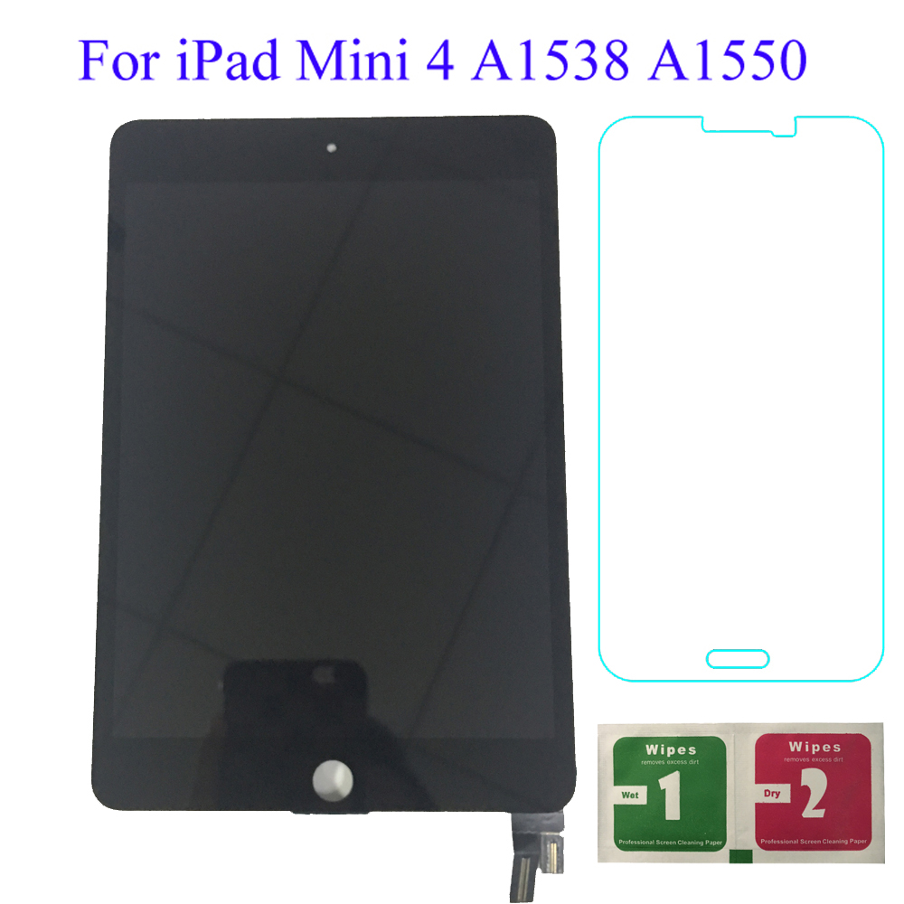 9.7'' Lcds For iPad mini 4 Mini4 A1538 A1550 LCD Display Touch Screen Digitizer Panel Assembly Replacement Part Price $78.33