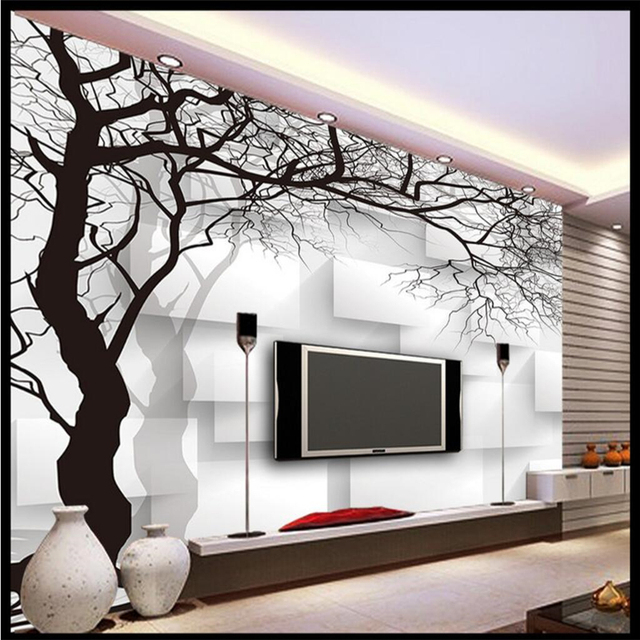 Beibehang Customize Any Size Mural Wallpaper Hand Painted