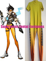High Quality 3D Print Hot Game Tracer Suit Bottoming Jumpsuit Lena Oxton Bodysuit Tracer Base Suit Cosplay Costume Custom Made