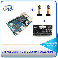 Banana PI M2 Berry with Alword P1 Exquisite Combo, can quickly for the image of intelligence