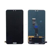 6,1 ''Полный ЖК дисплей для huawei P20 Pro ЖК дисплей с сенсорным экраном планшета Ассамблеи черный Бесплатная доставка