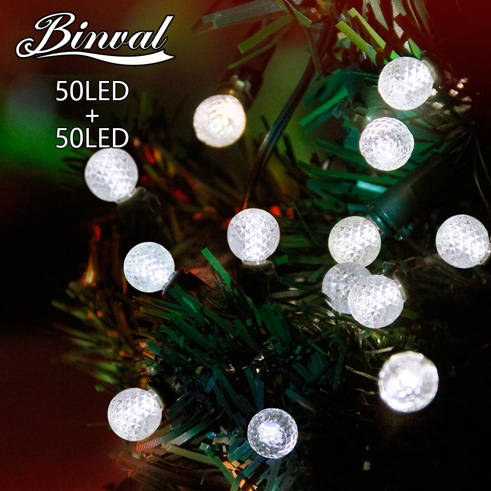 Binval Solar Holiday Lighting 50 LEDs Peach Flower Tree Light Decoration Mariage Led Decoration Lights Party Boda Decoracion