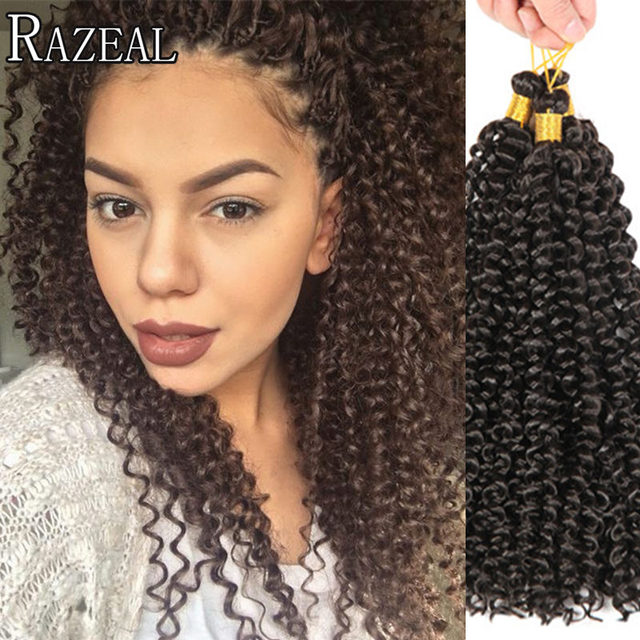 Zazeal Hair Products Crochet Braids Freetress Water Wave 14 Inch