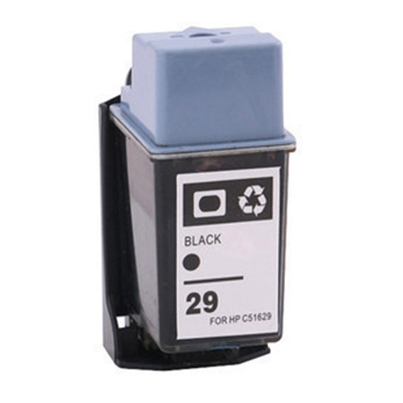 2 Pieces Black Lot Hot Remanufactured Ink Cartridge For