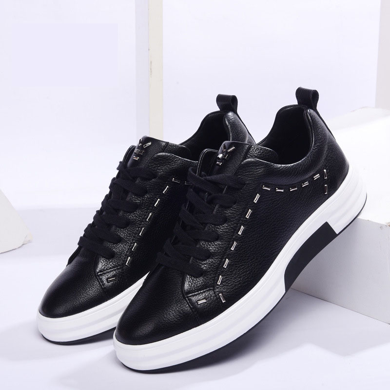 mens casual shoes genuine leather men designer sneakers for men cowhide breathable sneaker fashion boots men Leisure shoesmens casual shoes genuine leather men designer sneakers for men cowhide breathable sneaker fashion boots men Leisure shoes