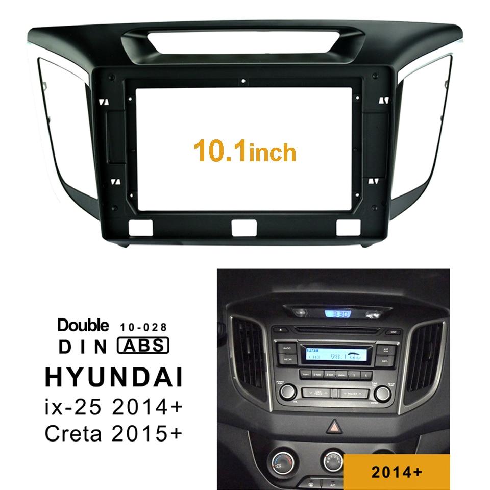 Dash kit for Hyundai iX-25 Creta 2014 fascia radio install facia frame panel