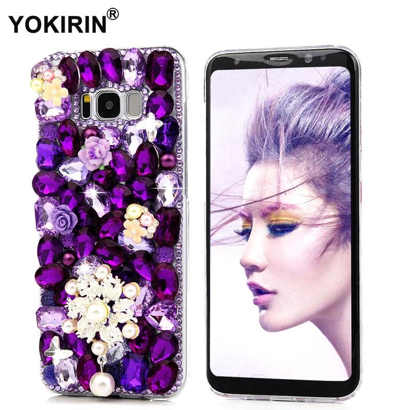 YOKIRIN Rhinestone Case For Samsung Galaxy S8 Plus Luxury