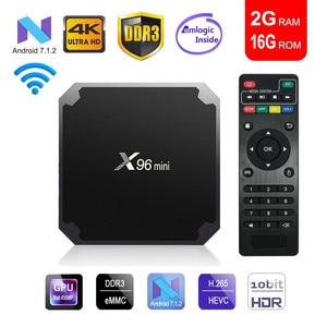 X96mini tv box android 7.1 sma
