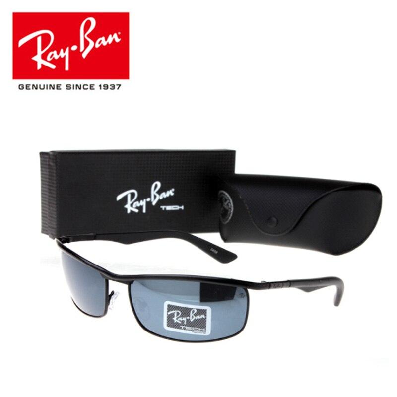 45563609df390 RayBan RB3459 2019 Quadrados Óculos De Sol Dos Homens Polarizados Condução  Espelho Retro Óculos de Sol Óculos de Sol Retro Oculos de sol Feminino