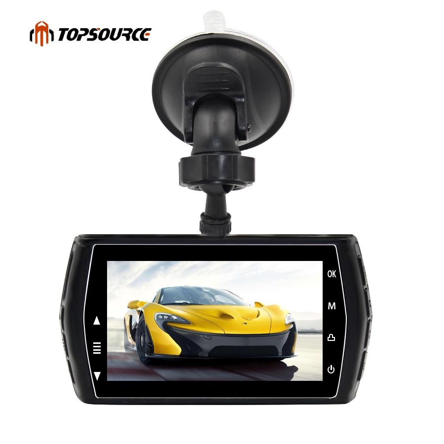 TOPSOURCE 3.0 IPS Screen Car DVR Camera 3 inch Full HD 1080P Video Recorder WDR Parking monitor Auto dvrs Recorder Dash Camera