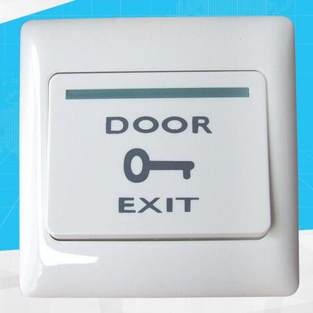 Plastic White Push Door Release Exit Button Switch for Door Access Control system E6 model Press to open the door fireproofing plastic abs white push door release exit button switch for door lock access control system m6 model