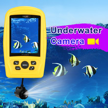 Underwater Camera Russian Menu LUCKY FF3308-8 Fishing Inspection System Waterproof Monitor 20M Cable Fish Finder Winter Ice #C5