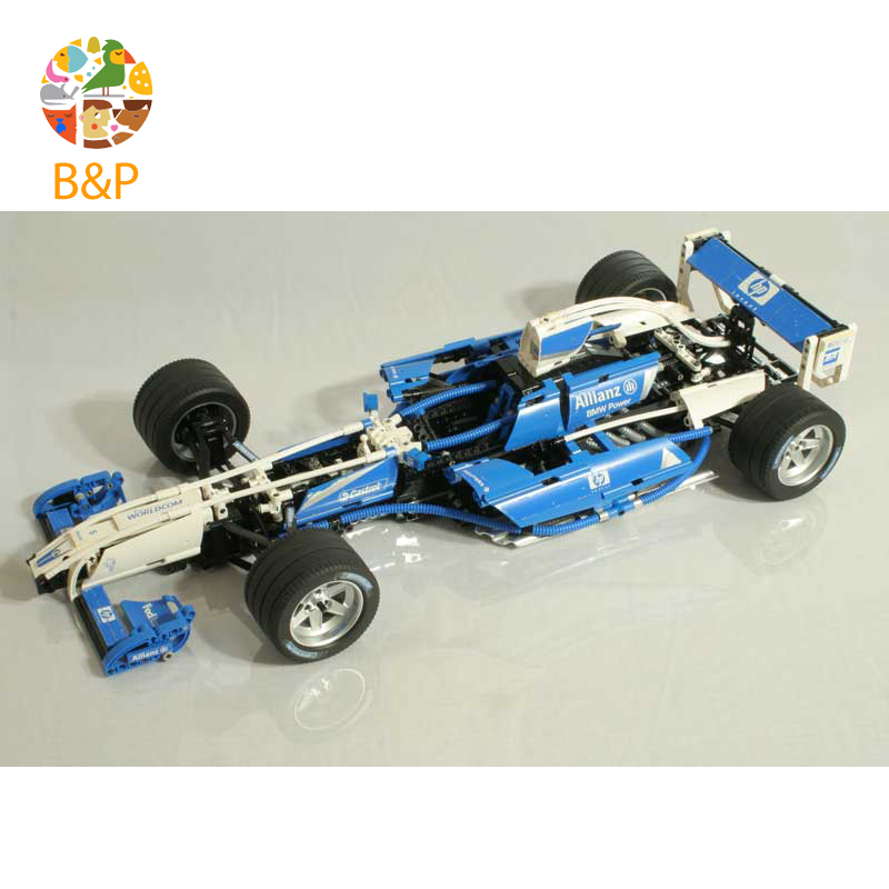 lepin Legoing 8461 1586Pcs Technic Series F1 Team Racer Set Car Building Blocks Bricks Gifts Toys compatible 20022 цена
