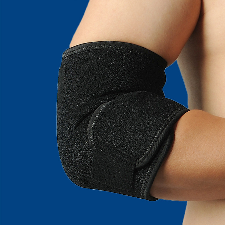 1PCS Elbow Support Elastic Gym Sport Elbow Protective Pad Absorb Sweat Sport Basketball Arm Sleeve Elbow Brace in Braces Supports from Beauty Health
