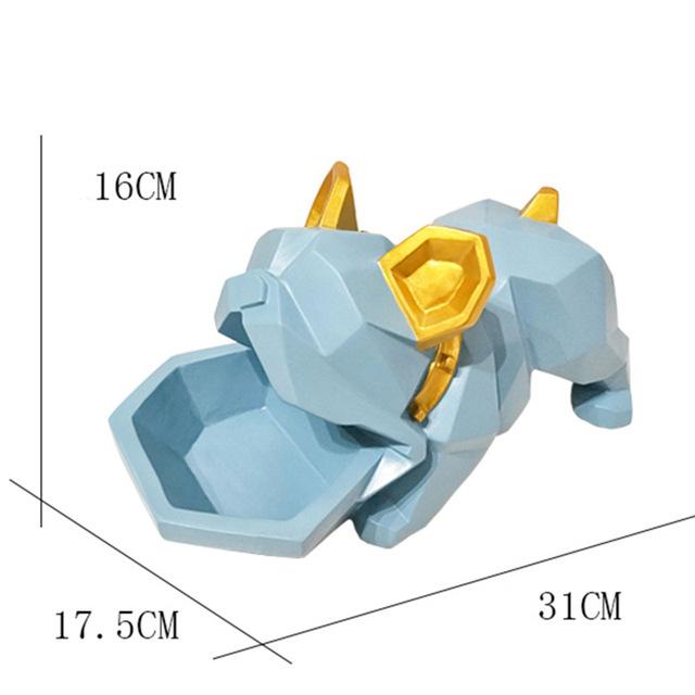 Bulldog Candy holder