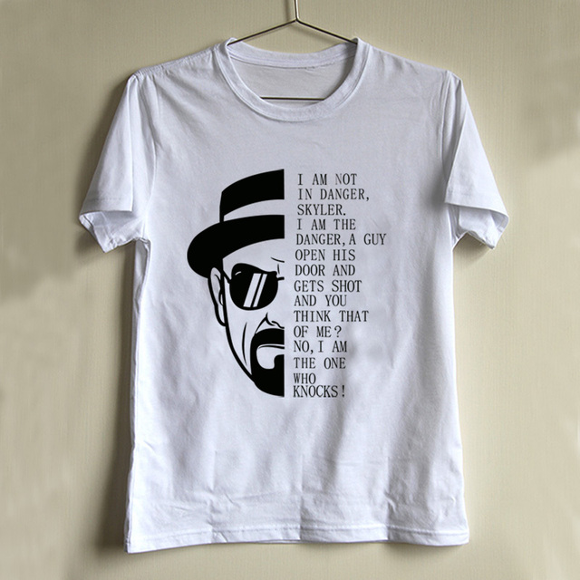 cool style boy breaking bad t shirt logo design breaking bad i am not the danger - School T Shirt Design Ideas