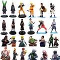 1 pc/lote Figuras 26 Estilos Anime Naruto Zetsu/Minato/Itachi/Sasuke/Yahiko/Konan Figura de Ação brinquedos de PVC Coleções Brinquedos Dos Miúdos