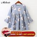 Melario Girls Dresses 2019 Fashion Kids Girls Dress cartoon Long sleeve princess dress fashion kids dresses children's clothing