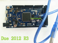 Free Shipping 1PCS For Due 2012 R3 ARM 32 Version Main Control Board USB CABLE 100