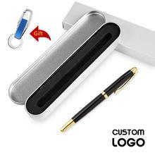 Хит высококачественная металлическая шариковая ручка лазерная