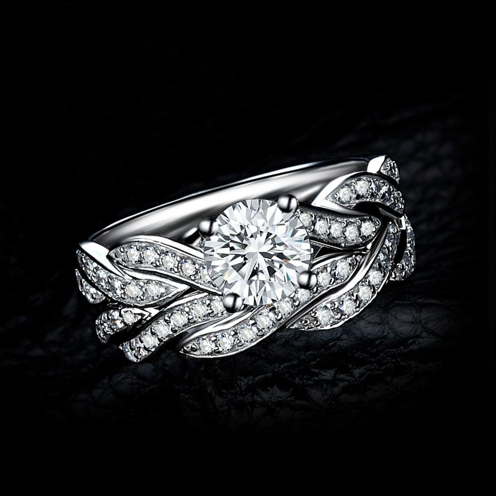 JewelryPalace Infinity 1.5ct simulyasiya edilmiş almaz il dönümü - Gözəl zərgərlik - Fotoqrafiya 2