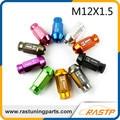 RASTP-Aleación De Aluminio M12x1.5-20 unids/pack Universal D1 Spec Lug Racing Wheel Tuercas Tornillos para Diferentes Colores LS-LN007