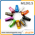 RASTP - M12x1.5 -  20pcs/pack Alloy Aluminum Universal D1 Spec Racing Wheel Lug Nuts Screw  for Different Colors LS-LN007