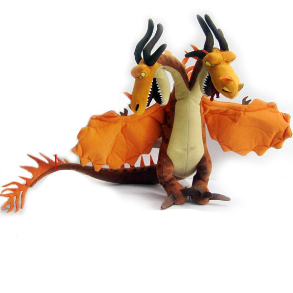 36cm How To Train Your Dragon 2 Monstrous Nightmare Plush Dolls 14inch Hideous Zippleback Stuffed Toys ...