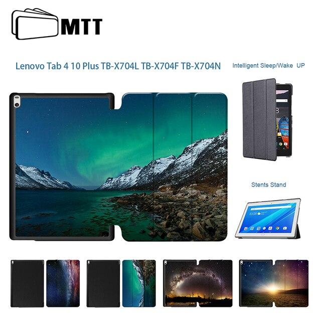 Cosmic Aurora высокое качество чехол для lenovo Tab4 10 плюс 10,1 ''tb X704L Smart PU кожаный чехол для lenovo Tab 4 10 Plus TB-X704L