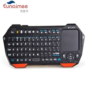 Mini 2.4G wireless Bluetooth backlight multi-fanction keyboard with touchpad for pc laptop smartphone smart TV